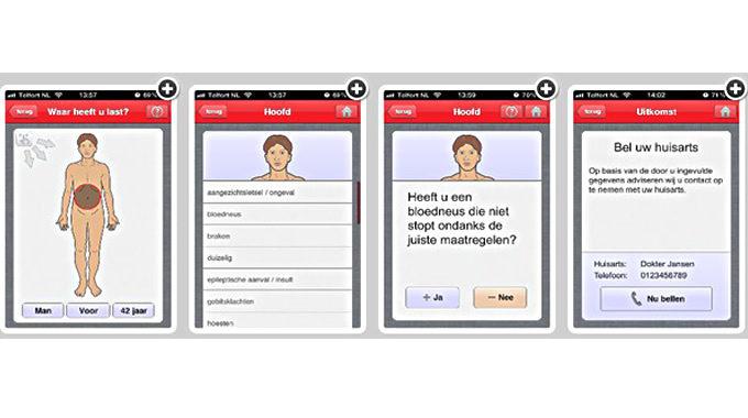 Schermweergave Moet Ik Naar De Dokter App